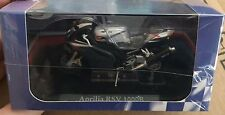 "DIE CAST SUPERBIKES "" APRILIA RSV 1000R "" ATLAS SCALE 1/24"