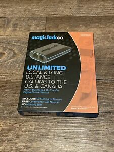 New MAGIC JACK GO NEW Smart Home/Business Digital Phone Service