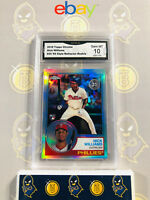 2018 Topps Chrome Nick Wiliams #20 83 Style Refractor Rookie 10 GEM MT GMA Grade