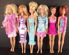 Interesting Set of 6 Beautiful Dresses Made to Fit Barbie Doll