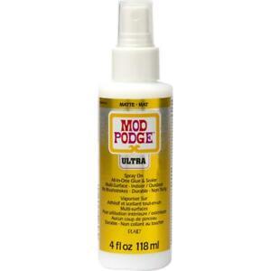 Mod Podge Ultra Matte Spray On Sealer, 4 oz