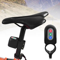 Lightweight Bicycle Bike 4-digit Code Password Lock Anti-theft Security Alarm SS