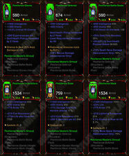 Diablo 3 RoS XBOX ONE [SOFTCORE] All Four Primal Necromancer Class Sets Max Stat