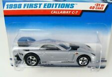 Hot Wheels 1998 First Editions Callaway C-7 #677  Combine Shipping