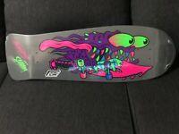 RARE SANTA CRUZ BLACKLIGHT Slasher Keith Meek Skateboard reissue deck, NICE!