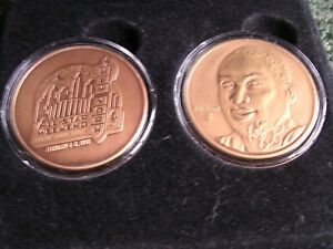 1998 NBA All Star Kobe Bryant Highland Mint Two Coin Set Bronze. Just 1000 Made