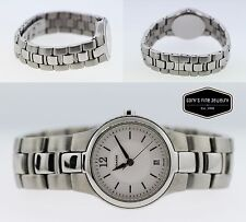 Coach Ladies' Stainless Steel 27mm White Dial Watch