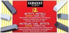 Sargent Art Artist's Graytone Square Chalk Pastel - 6 colors - 12 count