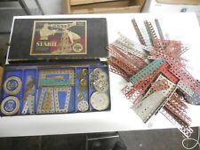 alter Originaler Stabil Baukasten Metallbaukasten 50 mit vielen Extra Teilen