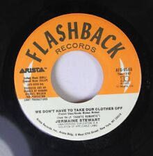 Soul 45 Jermaine Stewart - We Don'T Have To Take Our Clothes Off / Jody On Flash