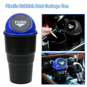 Multi-functional Car SUV Trash Can Garbage Dust Bin Coin Holder Ashtray Cup