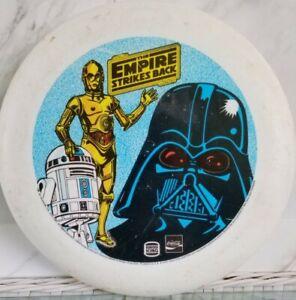 VINTAGE Star Wars Empire Strikes Back Frisbee Burger King Coca Cola 1981