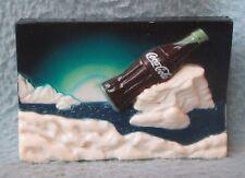 Iceberg Cold Coca Cola Bottle 3D Rubber Magnet Souvenir Travel Refrigerator