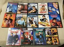 Lot of 10 JACKIE CHAN Movies Videos EMPTY DVD CASES - No Discs Dragon Dynasty ++