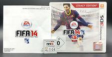 """NINTENDO 3DS SPIEL """" FIFA 14 2014 """" KOMPLETT"""