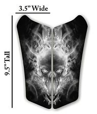 Can Am Spyder Can-AM Spyder RS 3D Skull Black Gel Motorcycle Tank Pad Protector