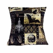 Hemet Edgar Allen Poe Inspired Pillow Cover Pillow Case The Raven Goth 18X18''