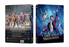 The Greatest Showman steelbook, Manta Lab1/4 slip NEW