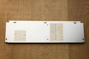 Revox B77 MKI MKII Bottom Panel Side Calibration Board Face Plate Faceplate