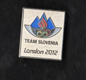 LONDON 2012. OLYMPIC GAMES. NOC PIN. TEAM SLOVENIA