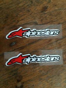 Alpinestars Reflective Motorcycle Stickers