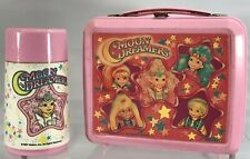 Vintage Moon Dreamers Pink Aladdin Plastic Lunch Box With Thermos 1987 Rare