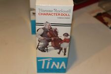 "Very Nice Norman Rockwell Character Doll ""Tina"" Mib"