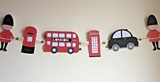 London Theme Bunting Ideal For Children's Bedroom, Playroom or party decoration