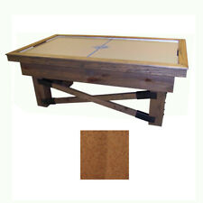 Fruitwood Maple Dynamo Rustic Air Hockey Table