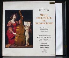 Gounod  Messe solennelle de Ste Cécile Hartemann ASDF 790 LP & CV EX
