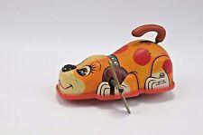 Vintage Yamaki Tin Wind Up Toy Hero Beagle Dog Japan 1950's