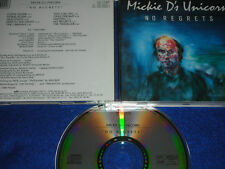 CD MICKIE D'S ds UNICORN No Regrets 10 TITRES 1989 phon