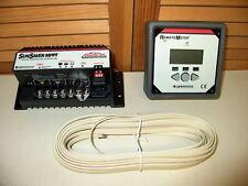 SunSaver MPPT Solar CHARGE CONTROLLER 15 Amps at 12V or 24V PLUS Remote METER!