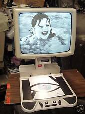 "17"" CRT Black & White ClearView CCTV Low Vision Aid for macular degeneration"