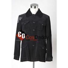 Sherlock Holmes Dr. John Watson Black Jacket Cosplay Costume  Custom Made