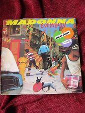 "Madonna Everybody 12"" VINYL SPAIN Sire 1982  MISSPRESS Instrumental Dub Long LP"