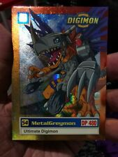 Digimon Card 1999 Metalgreymon #54 U6 of 8 Holo Foil