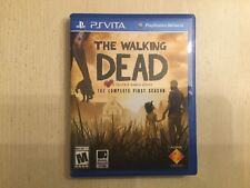 Replacement Case (NO GAME) The Walking Dead: Complete First Season  - PS Vita
