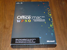 Microsoft Office Mac 2011 2-Liz. Home & Business niederländische Vollvers. dutch