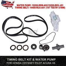 SET Timing Belt kit & Water Pump For 2005-2012 Honda Pilot Odyssey 3.5L Acura V6