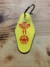 Camp Crystal Lake Keychain Friday The 13th Jason Voorhees