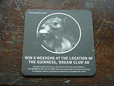 Beermat Coaster Guinness Win a weekend at the location of Dream Club AD BM244
