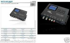 MODULATORE AUDIO VIDEO DIGITALE TERRESTRE DVB-T SAT VCR DVD DVR HDMI RCA GBS HD