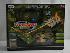 RC Fighting Battle Army Tanks -Set of 2 Abrams Remote Control-