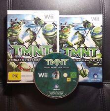 TMNT Teenage Mutant Ninja Turtles (Nintendo Wii, 2007) Wii Game - PAL
