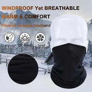 Neck Gaiter Face Cover Balaclava Headwear UV Protection Breathable Bandana Scarf