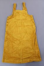ASOS Women's Monki Cord Midi Pinny Dress CK6 Mustard Small NWT
