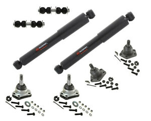 4x4 Front Kit Shock Absorber Upper Lower Ball Joints Chevrolet Blazer 4.3L Sway