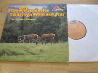 LP Die 20 schönsten Lieder Wald & Flur Orchester Silberwald Vinyl Maritim 47 530