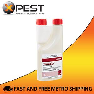Termidor SC 1L Termiticide Termite White Ant Treatment Pest Barrier Insect Spray